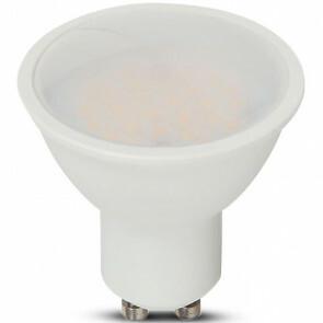 SAMSUNG - LED Spot - Viron Kastra - GU10 Fitting - 10W - Natuurlijk Wit 4000K - Mat Wit - Kunststof 1