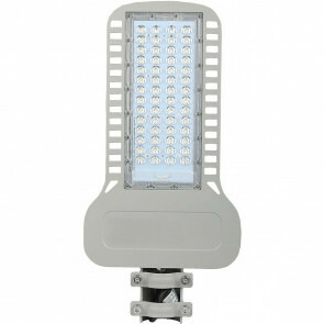 SAMSUNG - LED Straatlamp Slim - Viron Unato - 100W - Natuurlijk Wit 4000K - Waterdicht IP65 - Mat Grijs - Aluminium