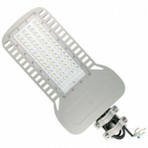 SAMSUNG - LED Straatlamp Slim - Viron Unato - 150W - Natuurlijk Wit 4000K - Waterdicht IP65 - Mat Grijs - Aluminium