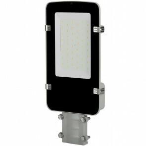 SAMSUNG - LED Straatlamp - Viron Anno - 30W - Helder/Koud Wit 6400K - Waterdicht IP65 - Mat Zwart - Aluminium