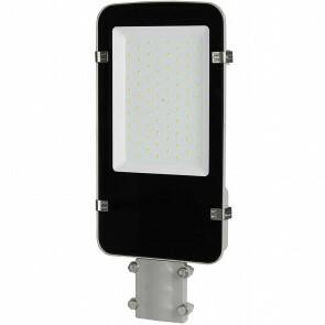 SAMSUNG - LED Straatlamp - Viron Anno - 50W - Helder/Koud Wit 6400K - Waterdicht IP65 - Mat Zwart - Aluminium