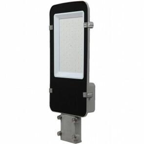 SAMSUNG - LED Straatlamp - Viron Anno - 50W - Natuurlijk Wit 4000K - Waterdicht IP65 - Mat Zwart - Aluminium