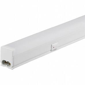 SAMSUNG - LED TL Armatuur met T5 Buis - Viron Veyno - 60cm Enkel - 7W - Warm Wit 3000K - Mat Wit - Kunststof