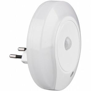 Stekkerlamp Lamp - Stekkerspot - Trion Mirloni - 6W - Warm Wit 3000K - Rond - Mat Wit - Kunststof