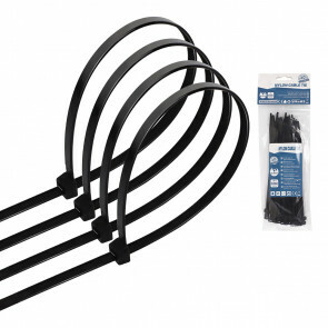 Tie Wraps - Tyrap - Aigi Tie - 3.6x150mm - Zwart - 40 Stuks
