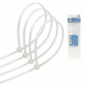 Tie Wraps - Tyrap - Aigi Tie - 3.6x200mm - Wit - 40 Stuks