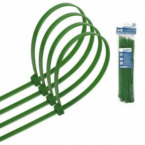 Tie Wraps - Tyrap - Aigi Tie - 3.6x250mm - Groen - 40 Stuks