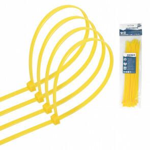 Tie Wraps - Tyrap - Aigi Tie - 4.8x250mm - Geel - 30 Stuks
