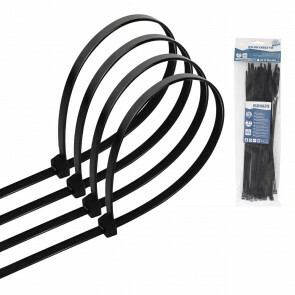 Tie Wraps - Tyrap - Aigi Tie - 4.8x250mm - Zwart - 30 Stuks