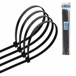 Tie Wraps - Tyrap - Aigi Tie - 4.8x450mm - Zwart - 30 Stuks