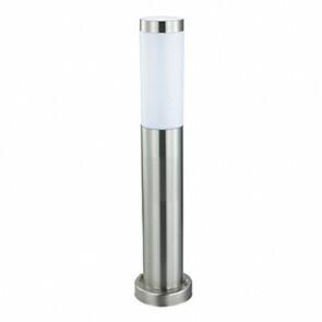Tuinverlichting / Buitenverlichting / Buitenlamp / Vloerlamp / Staande Lamp Rond Mat Chroom 50x7.6cm Modern RVS/PC E27 IP44