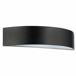 Tuinverlichting / Buitenverlichting / Buitenlamp / Wandlamp Ovaal Mat Zwart 5.5W 4100K Natuurlijk Wit 30x6.5cm Modern Aluminium/Kunststof IP44