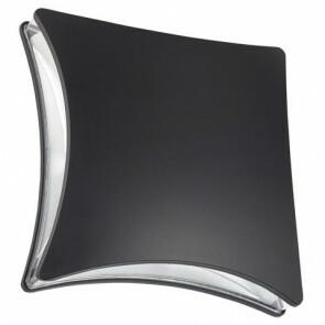 Tuinverlichting / Buitenverlichting / Buitenlamp / Wandlamp Vierkant Mat Zwart 5.5W 4100K Natuurlijk Wit 20.5x20.5cm Modern Aluminium/Kunststof IP44 Quatro