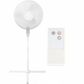 Ventilator - Aigi Lunom - Statiefventilator - Staand - Rond - Mat Wit - Kunststof