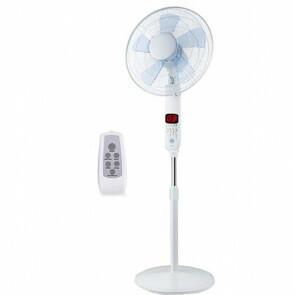 Ventilator - Aigi Ocyna - Statiefventilator - Afstandsbediening - Staand - Rond - Mat Wit - Kunststof