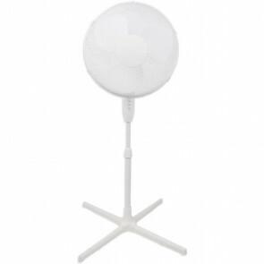 Ventilator - Aigi Siny - Statiefventilator - Staand - Rond - 40W - Wit