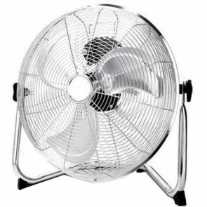 Ventilator - Aigi Unimo - Vloerventilator - Staand - Rond - Mat Zilver - Kunststof