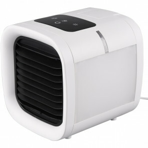 Ventilator - Trion Briskon - Tafelventilator - Afstandsbediening - Timer - Staand - Vierkant - Mat Wit - Kunststof