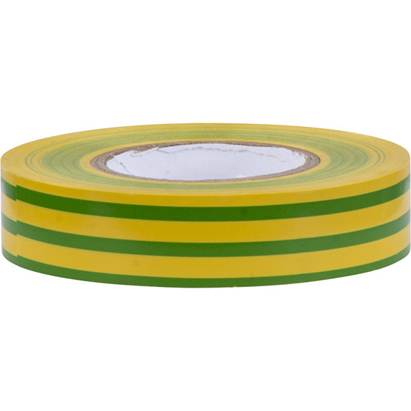 Isolatietape - Yurga - Groen/Geel - 20mmx20m