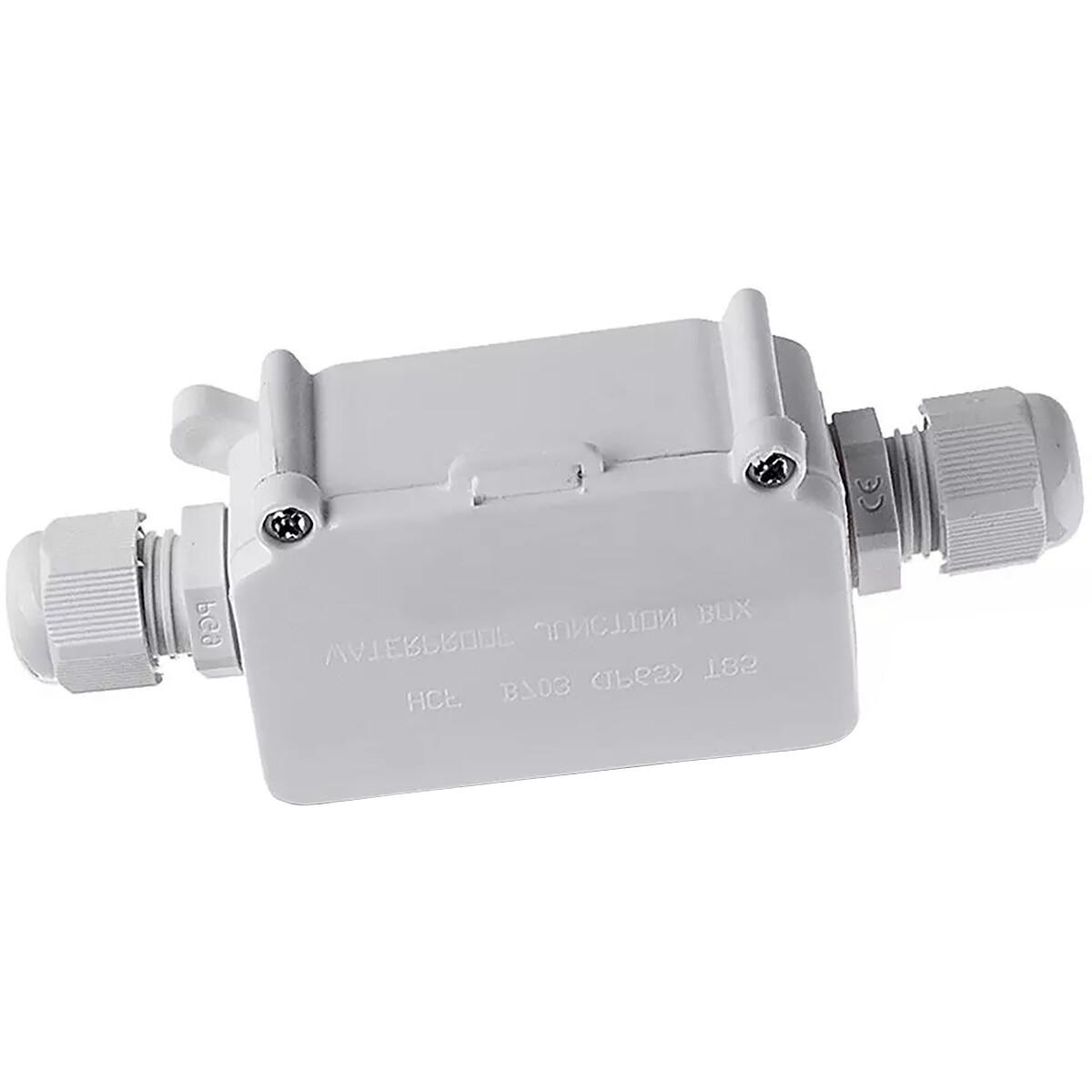 Kabelverbinder - Viron Thermin - Rechte Connector - Waterdicht IP65 - 3 Aderig - Mat Wit