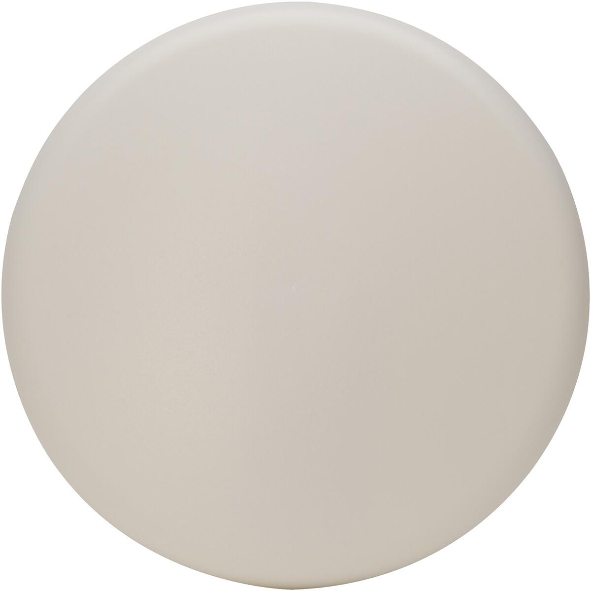 KOPP - Afdekplaat Plafond Centraaldoos - Rond - Wit - 112mm