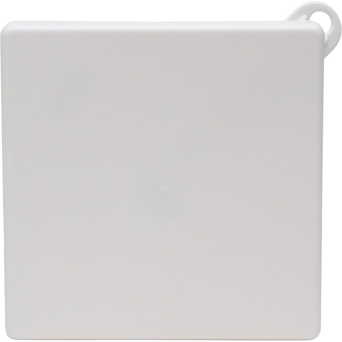 KOPP - Afdekplaat Plafond Centraaldoos - Vierkant - Wit - 112mm