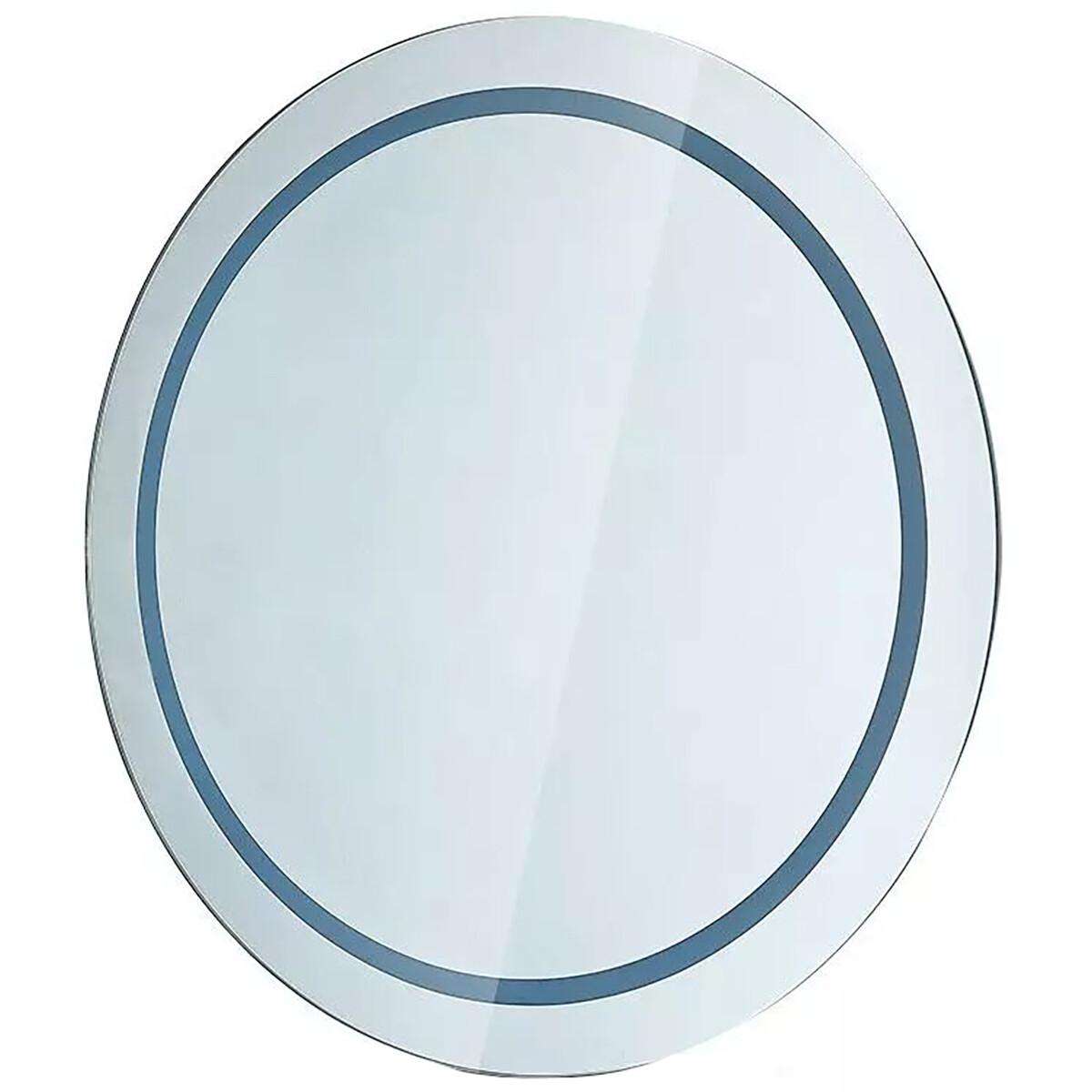 LED Badkamerspiegel - Viron Mirron - Ø60cm - Rond - Anti Condens - Helder/Koud Wit 6400K