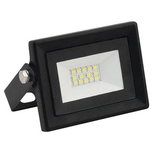 LED Bouwlamp 10 Watt - LED Schijnwerper - Pardus - Helder/Koud Wit 6400K - Water