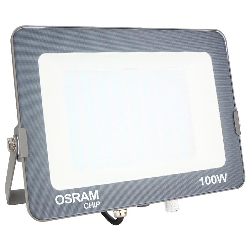 OSRAM - LED Bouwlamp 100 Watt - LED Schijnwerper - Aanpasbare Kleur - Waterdicht IP65