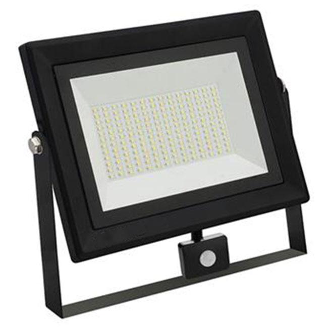 LED Bouwlamp 100 Watt met sensor - LED Schijnwerper - Pardus - Helder/Koud Wit 6