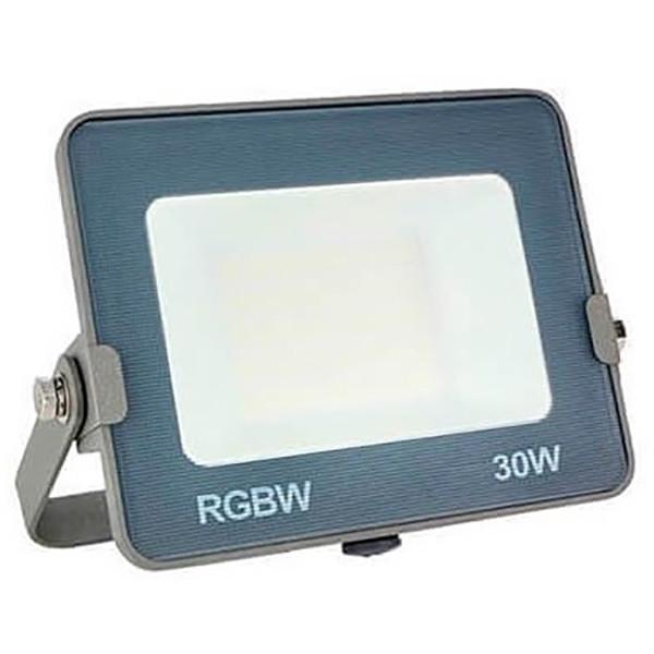 OSRAM - LED Bouwlamp 30 Watt - LED Schijnwerper - RGBW - Waterdicht IP65 - Afstandsbediening