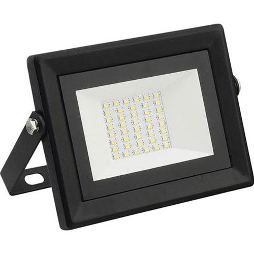LED Bouwlamp 30 Watt - LED Schijnwerper - Pardus - Helder/Koud Wit 6400K - Water