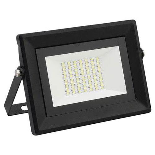 LED Bouwlamp 50 Watt - LED Schijnwerper - Pardus - Helder/Koud Wit 6400K - Water