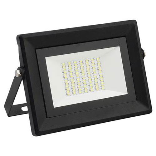 LED Bouwlamp 50 Watt - LED Schijnwerper - Pardus - Helder/Koud Wit 6400K - Waterdicht IP65