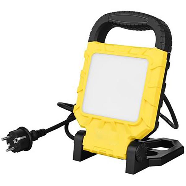 LED Bouwlamp met Statief - Propa - 45 Watt - Helder/Koud Wit 6400K - Waterdicht IP54 - Kantelbaar