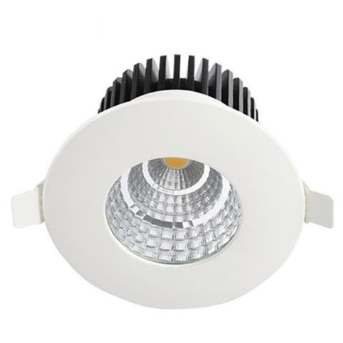 LED Spot - Inbouwspot - Rond 6W - Waterdicht IP65 - Natuurlijk Wit 4200K - Mat Wit Aluminium - Ø90mm