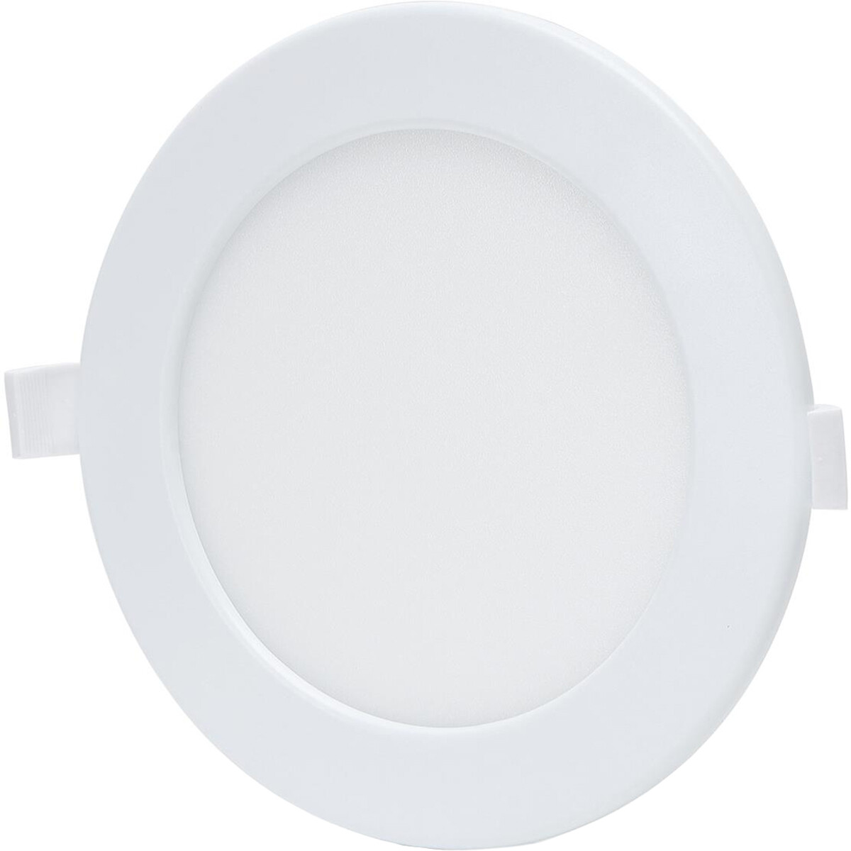 LED Downlight - Smart LED - Aigi Zumba - 12W - Aanpasbare Kleur - Inbouw Rond - Mat Wit - Aluminium