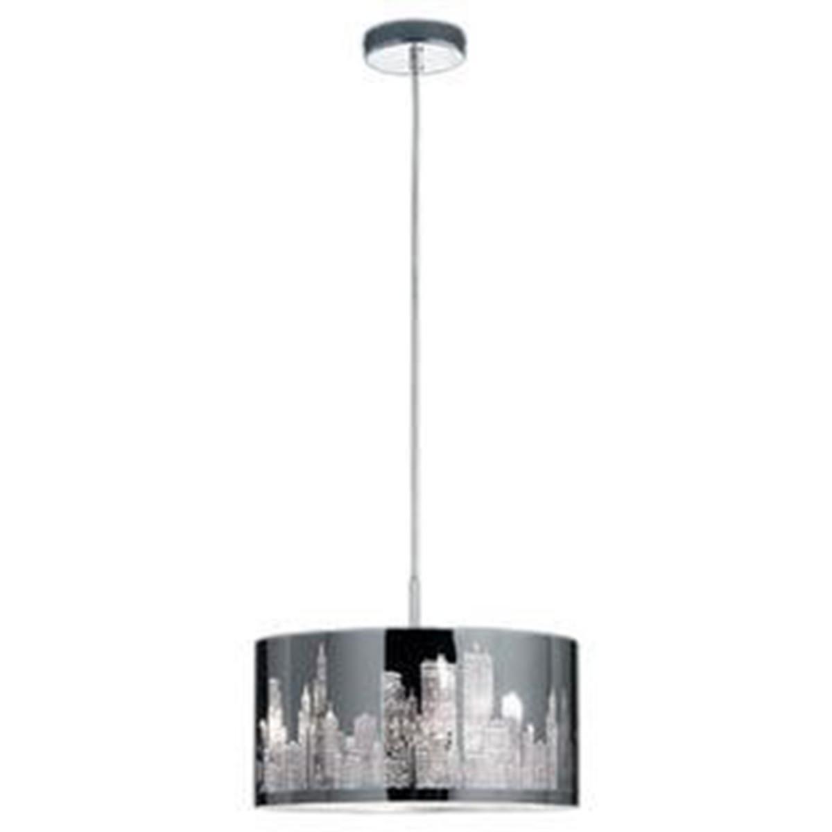 LED Hanglamp - Trion Kimo - E14 Fitting - Rond - Glans Chroom - Aluminium