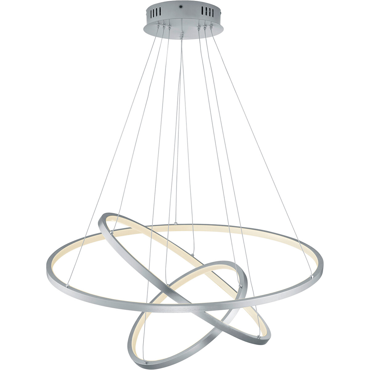 LED Hanglamp WiZ - Smart LED - Hangverlichting - Trion Noraan - 80W - Aanpasbare Kleur - RGBW - Rond