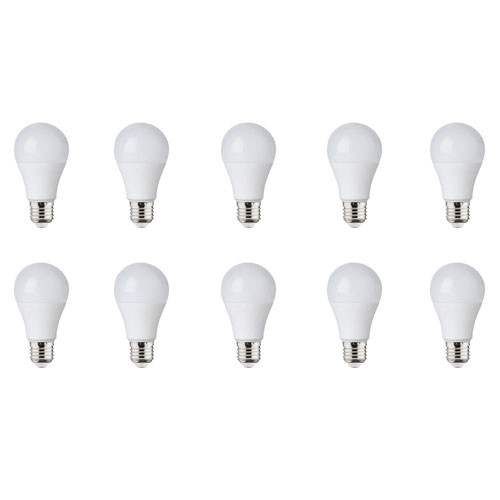 LED Lamp 10 Pack - E27 Fitting - 8W - Helder/Koud Wit 6000K