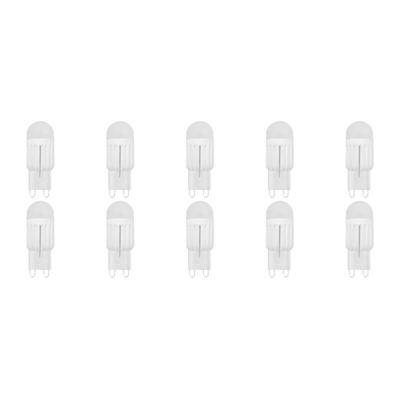 LED Lamp 10 Pack Nani G9 Fitting Dimbaar 3W Helder Koud Wit 6400K