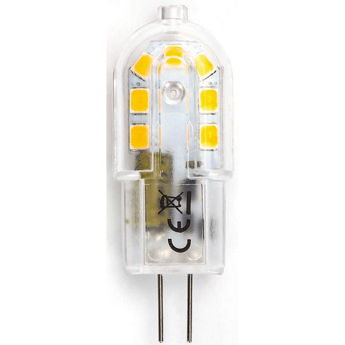LED Lamp - Aigi - G4 Fitting - 2W - Warm Wit 3000K | Vervangt 20W