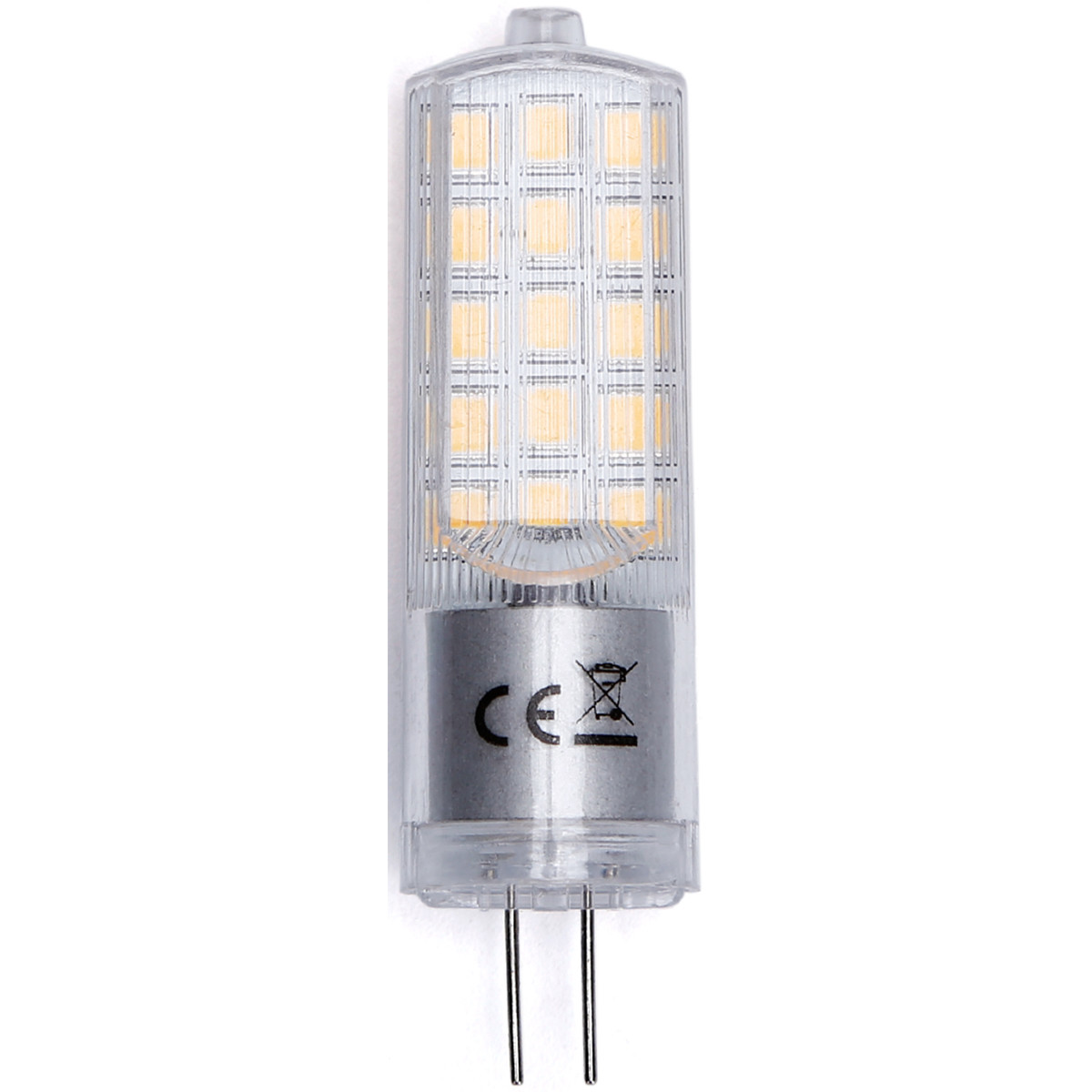 LED Lamp - Aigi - G4 Fitting - 3.6W - Helder/Koud Wit 6500K | Vervangt 35W