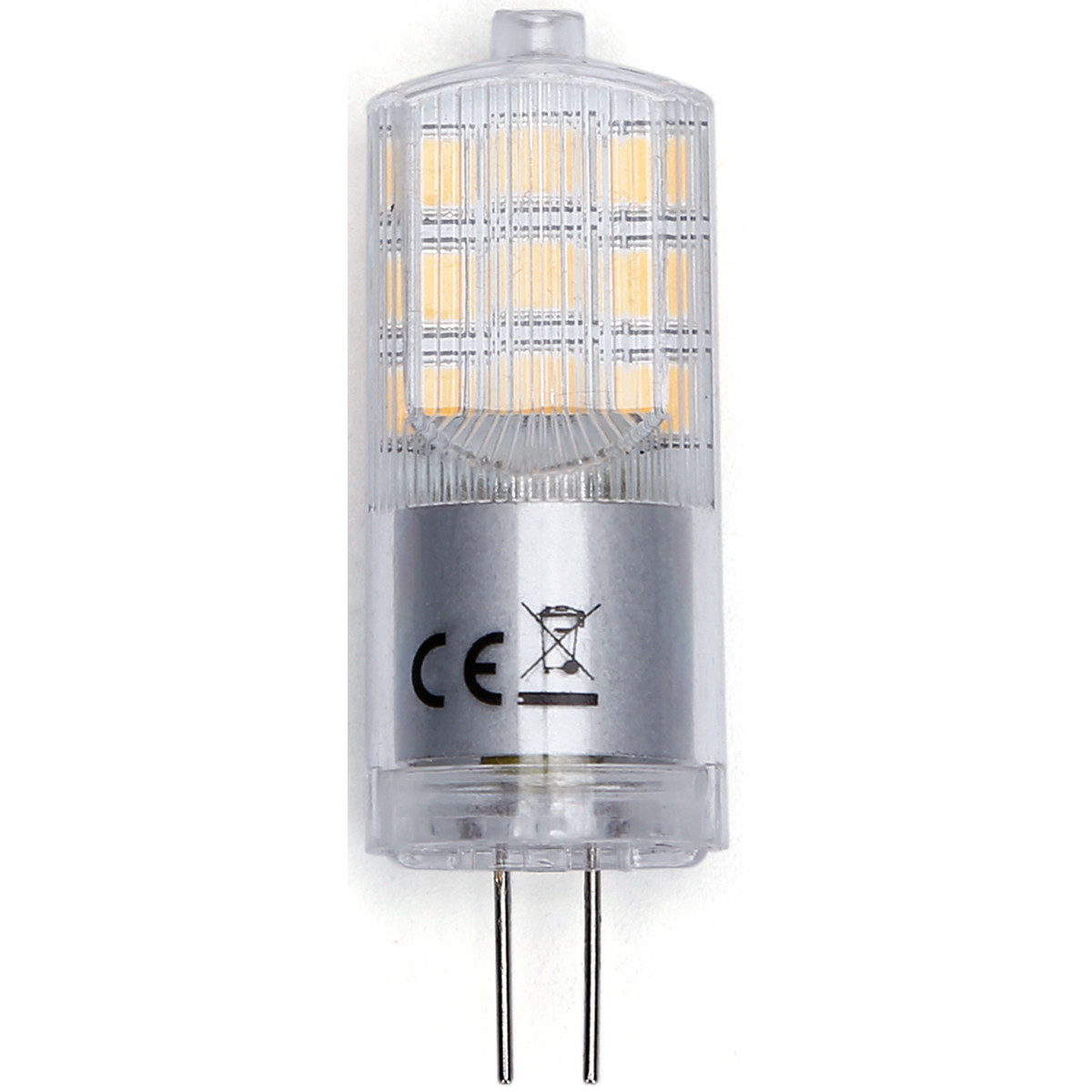 LED Lamp - Aigi - G4 Fitting - 3W - Helder/Koud Wit 6500K | Vervangt 25W