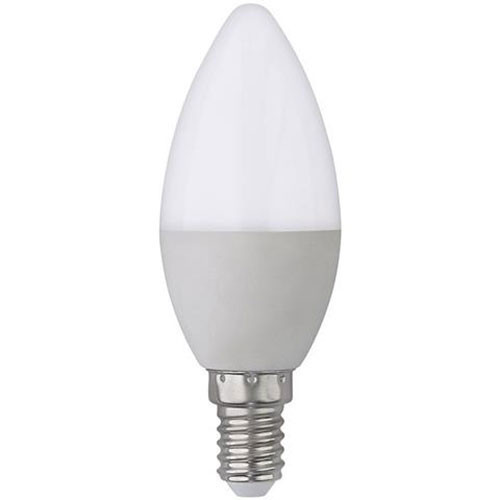 LED Lamp - E14 Fitting - 6W - Helder/Koud Wit 6400K