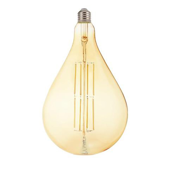 LED Lamp - Design - Torade - E27 Fitting - Amber - 8W - Warm Wit 2200K