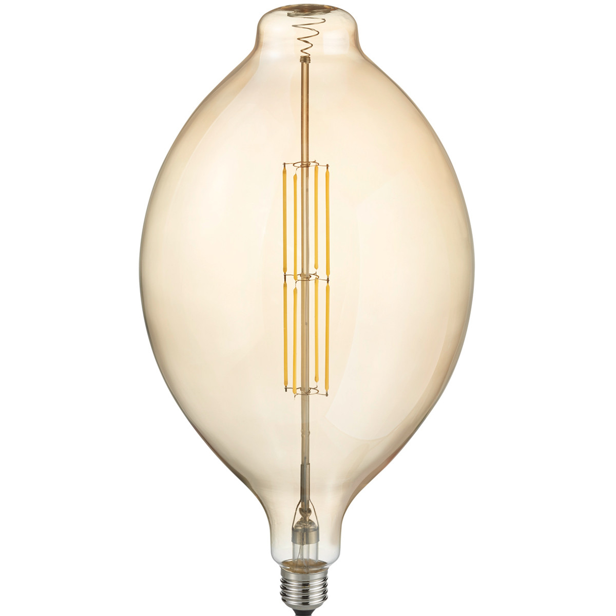 LED Lamp - Design - Trion Tropy - Dimbaar - E27 Fitting - Amber - 8W - Warm Wit 2700K