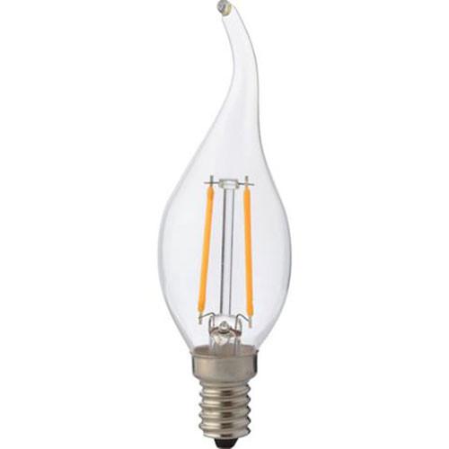 LED Lamp - Kaarslamp - Filament Flame - E14 Fitting - 4W - Natuurlijk Wit 4200K
