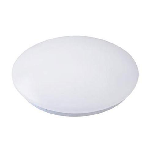 LED Plafondlamp - Opbouw Rond 24W - Natuurlijk Wit 4200K - Mat Wit Aluminium