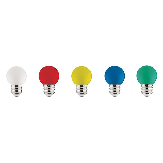 LED Lamp Party Set - Romba - Gekleurd - E27 Fitting - 1W